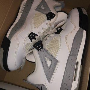 Other - Air Jordan retro 4 cement